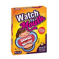 Watch Ya' Mouth - The Authentic, Hilarious, Mouthguard Party Card Game