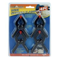 Mini Spring Clamps 8cm Length Each 4pc