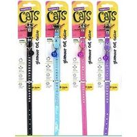 Cats Glamour Collar Diamonds & Bell 26cm
