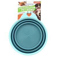 Collapsible Pet Bowl Travel Bowl Portable Feeder Outdoor Water Food Dish 250ml