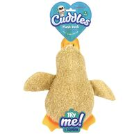 Plush Duck Dog Toy with Squeaky
