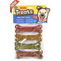 4pcs Dog Munchies Bones 120g 10cm
